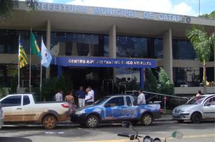 Fachada da prefeitura municipal de Catalão
