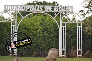 Portal de entrada da cidade de Divinópolis de Goiás