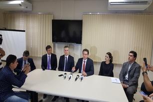 Promotores explicaram à imprensa detalhes da investigação