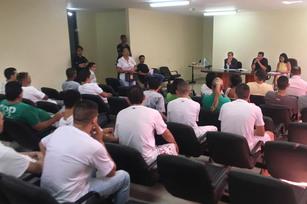 Reunião aconteceu na terça-feira com representantes das alas